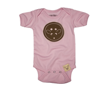 Load image into Gallery viewer, girls Button Onesie
