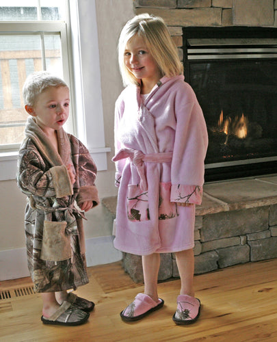 Realtree AP® Pink Kids Robe