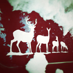 Deer Family Decal
