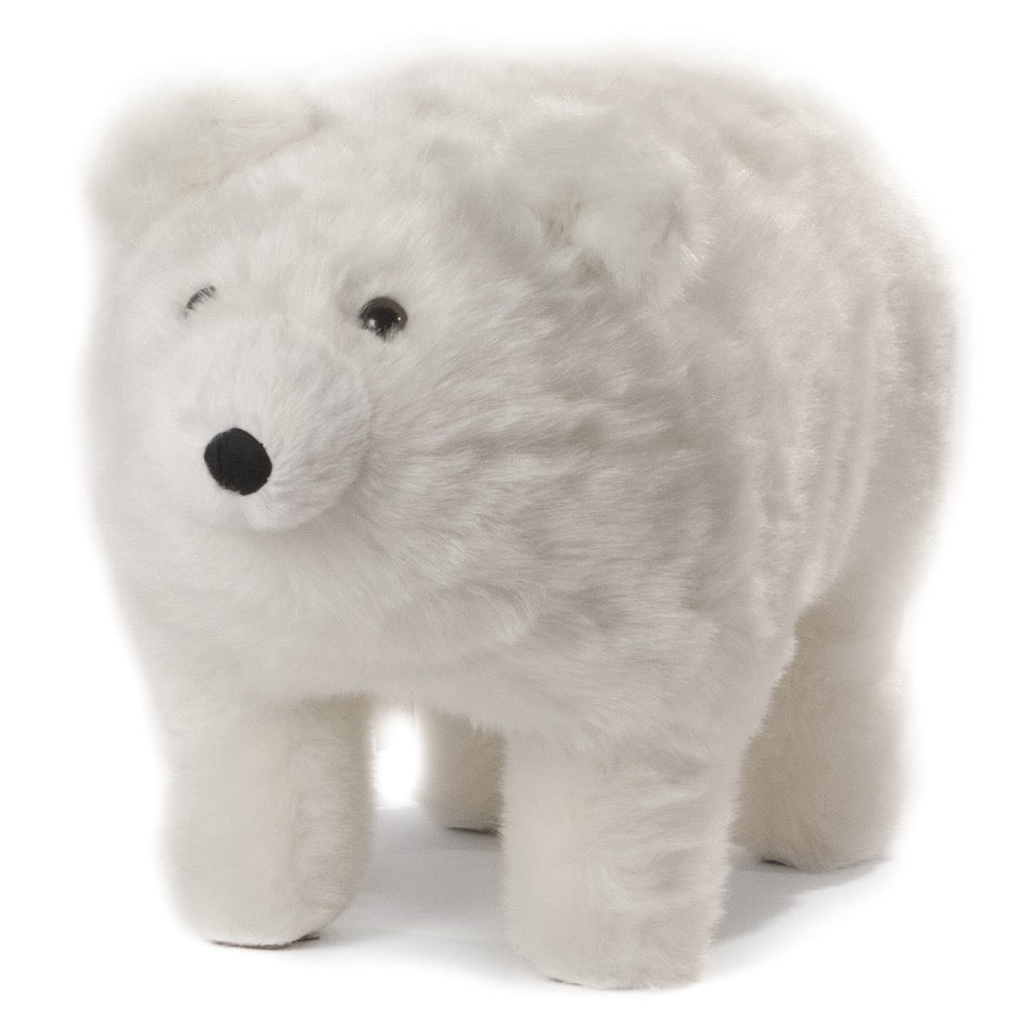 Frosty polar bear