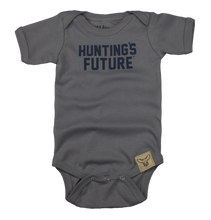 Load image into Gallery viewer, Hunting's Future? Onesie