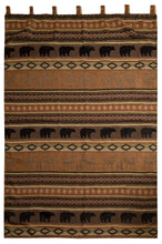 Load image into Gallery viewer, Saranac Lodge Rustic Curtain Panels (Set of 2)
