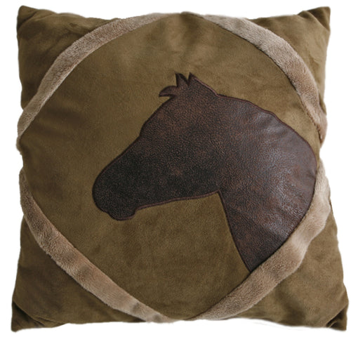 Applique Horse Pillow