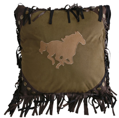 Running Horse Pillow