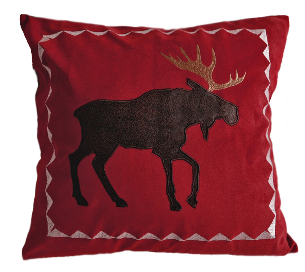 Red Moose Pillow