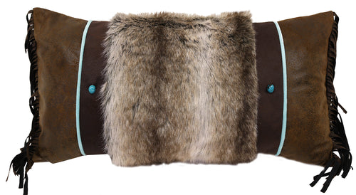 Saguaro Fur Pillow