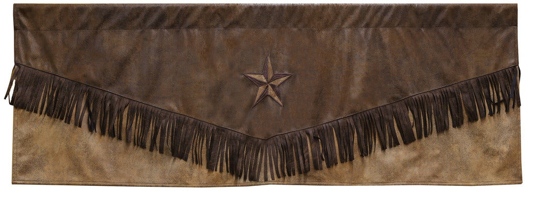 Brown Mustang Valance