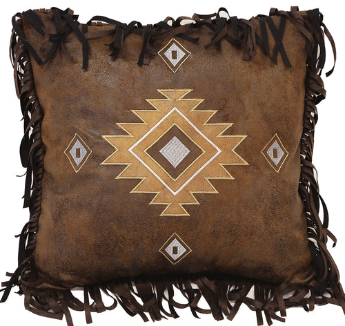 Old West Diamonds Pillow