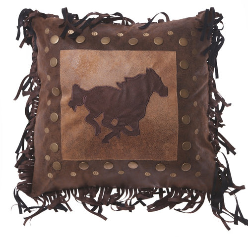 Horse Rivet Pillow