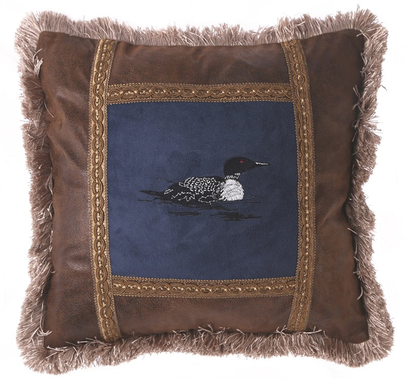 Loon Pillow