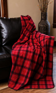 Una Plaid Throw