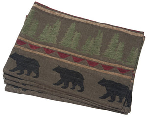 Bear Country Placemat (set of 4)