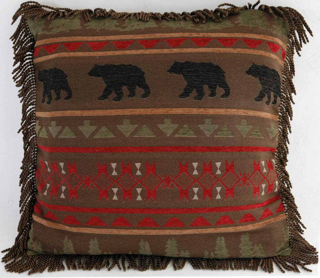 Bear Country Euro Pillow Cover