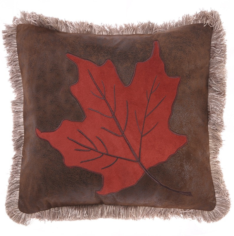 Maple Leaf Pillow