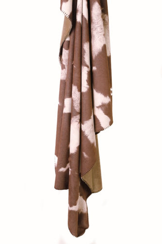Wyoming Cowhide Throw