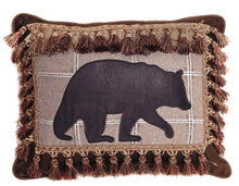 Load image into Gallery viewer, Bear with Tassel Fringe pillow