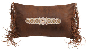 Beaded Fringe Pillow