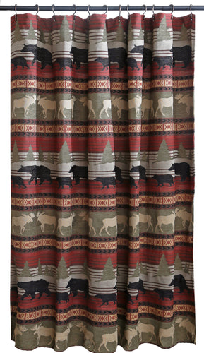 Ontario Wilderness Shower Curtain