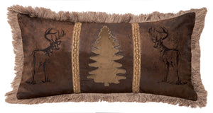 Bucks and Tree Pillow