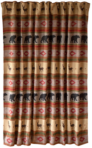 Maple Lake Shower Curtain