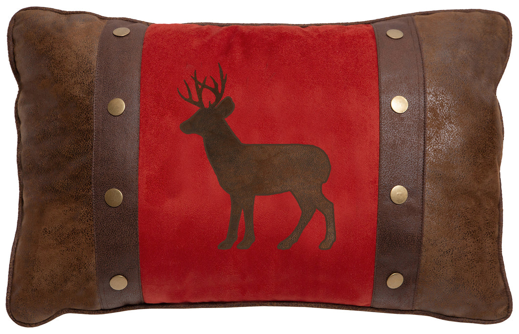 Buck & Rivet Throw Pillow