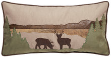 Load image into Gallery viewer, Deer Scene Throw Pillow