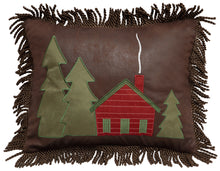 Load image into Gallery viewer, Hidden Cabin Throw Pillow