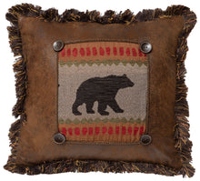 Load image into Gallery viewer, Maple Lake Bear Throw Pillow