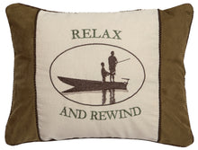 Load image into Gallery viewer, Relax & Unwind Throw Pillow