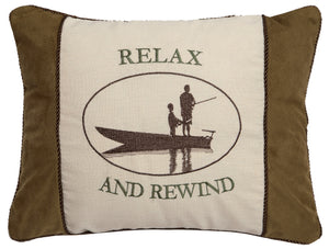 Relax & Unwind Throw Pillow