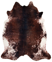 Load image into Gallery viewer, Faux Cowhide Print Rug 5' x 6.5', Tri-Color