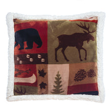 Load image into Gallery viewer, Patchwork Lodge Pillow