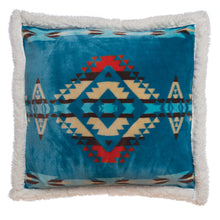 Load image into Gallery viewer, Turquoise Southwest Pillow