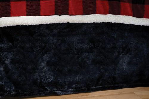 Lumberjack Plaid Bed Skirt