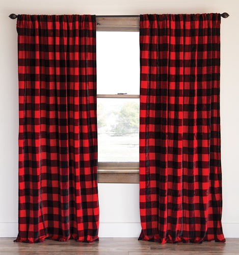 Lumberjack Plaid Drapes