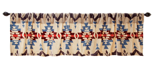 Blue River Plush Valance