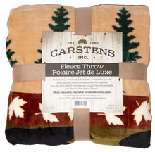 Load image into Gallery viewer, Cascade Ridge Extra Plush Sherpa Throw Blanket 54x68