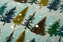 Load image into Gallery viewer, Snowflake Sherpa Throw Blanket