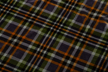 Load image into Gallery viewer, Grey Plaid Sherpa Throw Blanket