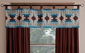Southwest Harvest Cotton Printed Quilt Valance
