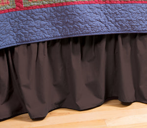 Bear & Basket Bed Skirt
