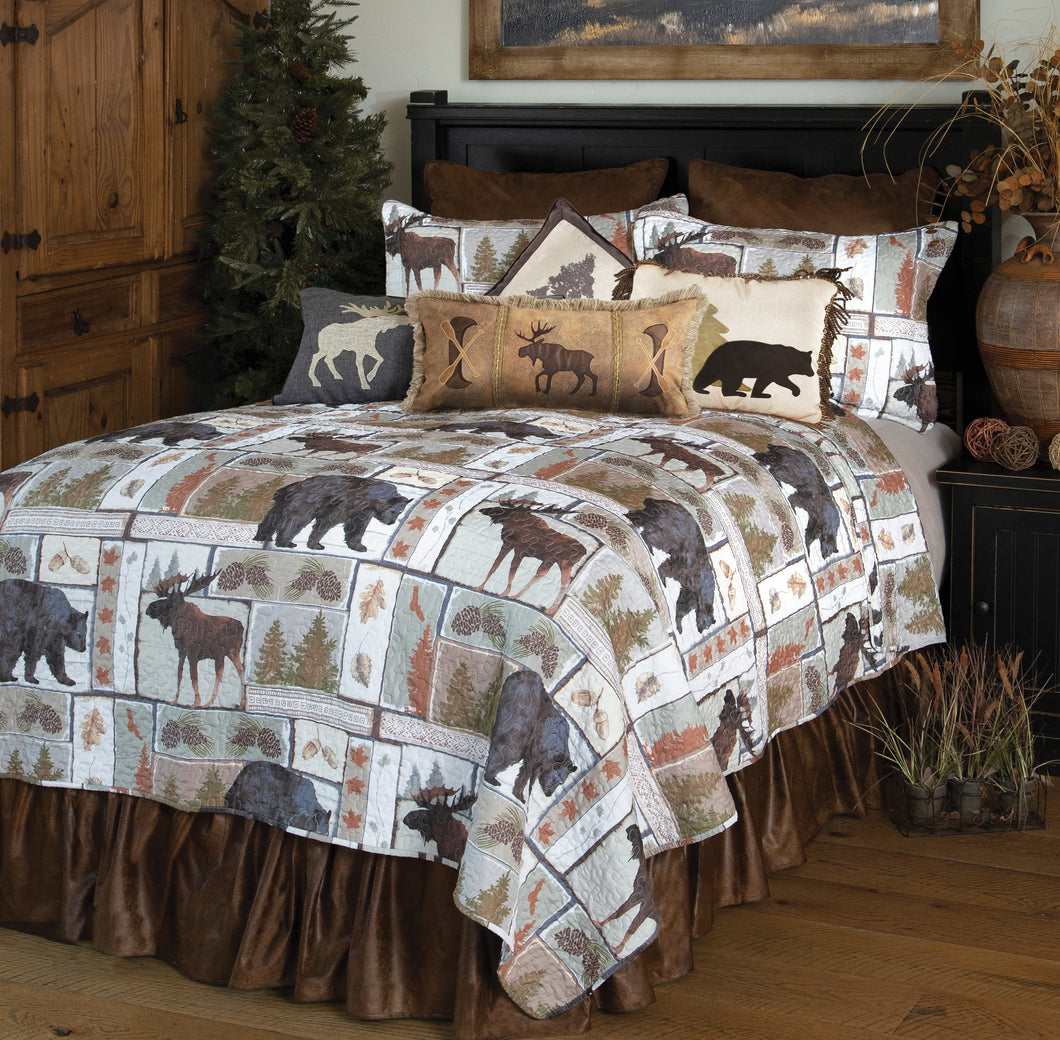 Vintage Lodge Quilt Set