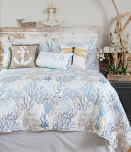 Summer Reef Coastal Quilt Set