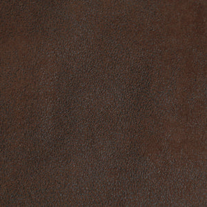 Chocolate Faux Leather Throw