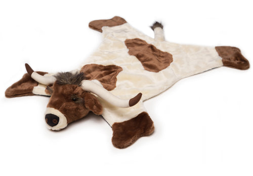 Longhorn Plush Rug, Large