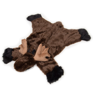 Moose Plush Rug, Large