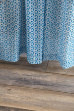Load image into Gallery viewer, Lace Curtain Panels Set of 2 (Each 54x84), Blue Eyelet