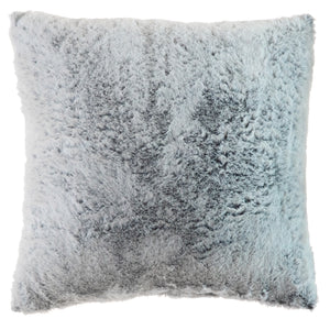 Silver Fox Faux Fur Pillow