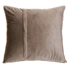 Load image into Gallery viewer, Grey Mink Faux Fur Pillow