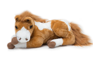 "Paint Large 18"" Plush Horse"